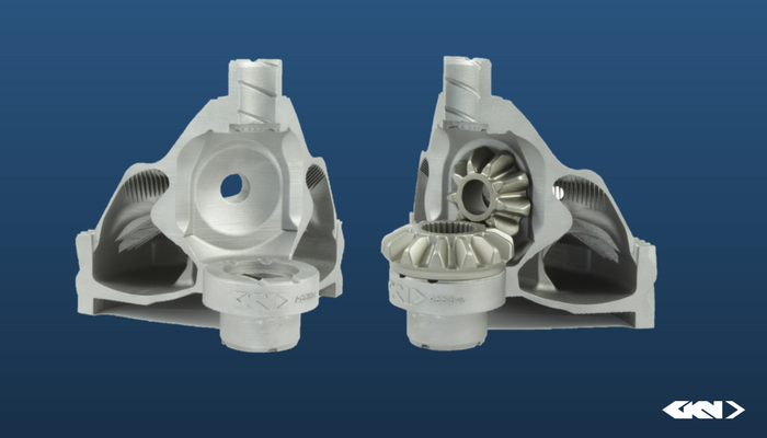 Exploring boundaries: Lightweight AM differential housing with FPM differential gears