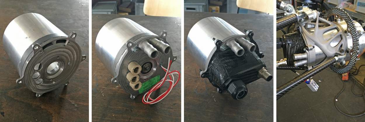 Step-by-step Assembly of the wheel-hub-drive